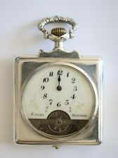 Antique Table Hebdomas 8 days Swiss Pocket Watch