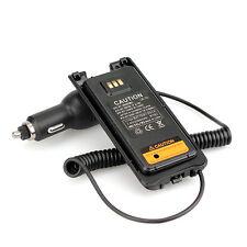 12V-24V Cargador de Coche Eliminador de Batería para Retevis RT82 Walkie Talkies