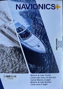 Navionics Plus USA & Canada Marine and Lake Charts Maps MSD/NAV+NI/ROW