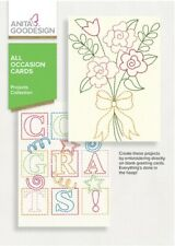 All Occasion Cards Anita Goodesign Machine Embroidery Design Cd 22Agpj New
