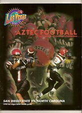 1998 San Diego State Las Vegas Bowl media Guide