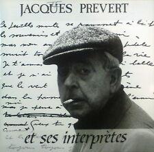 2erCD JACQUES PREVERT - et ses interpretes, 1928 - 1972