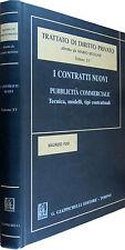 BESSONE Trattato di diritto privato I CONTRATTI NUOVI Giappichelli 2001