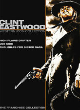 Clint Eastwood Western Icon Collection (High Plains Drifter / Joe Kidd / Two Mul