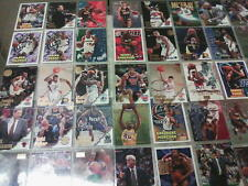 LOT OF 117  TRADING CARDS FOOTBALL- BASKETBALL & BASEBALL MANY PLAYERS & TEAMS