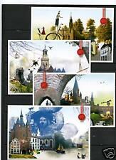 Nederland Hanzesteden voorgefrankeerde postkaarten - postcards