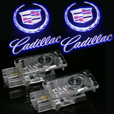 2Pcs Ghost LED Courtesy Shadow Laser Projector Light For Cadillac CTS SRX ATS US