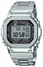 ✫ Casio G-Shock GMW-B5000-D1 Solar Full Metal Square Silver