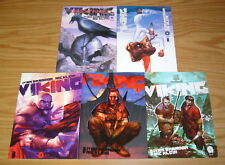 Viking #1-5 VF/NM complete series - most violent criminal underworld in history