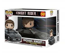FUNKO POP RIDES! KNIGHT RIDER - MICHAEL KNIGHT w/ KITT 50 VINYL