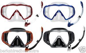 Scubapro Crystal Vu Mask and Spectra Snorkel combo