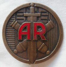 Ecole Nationale Supérieure Armement insigne émail Drago O.M. 1947 authentique