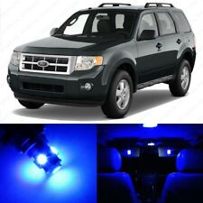 13 x Blue LED Interior Light Package For 2008 - 2012 Ford Escape + PRY TOOL