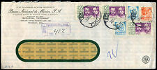 Mexico 1971 Registered Commercial Cover #C39317