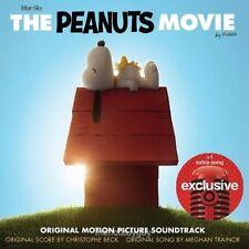 The PEANUTS Movie Soundtrack CD (2015 20thCentury) BRAND NEW SEALED