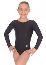 Black Rhapsody Long Sleeve Gymnastics Leotard Size 22 (2-3 years)