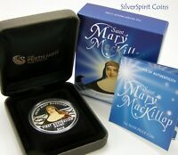 2010 MARY MCKILLOP Silver Proof Coin