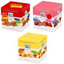 RITTER SPORT - Chocolates Cubs Box - Three (3) Boxes of your choice