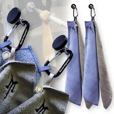 Magnetic Microfiber Gym Towel 2pk - Hang your workout towel to keep germs away!