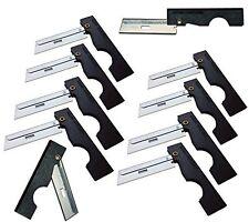 Derma-Safe Folding Utility Razor Knife 10-pack BLACK for Survival Tool Kit