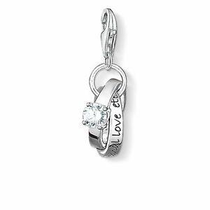 """Genuine THOMAS SABO Charm Pendant """"Wedding Rings"""""""