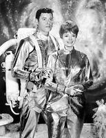 8x10 Print Guy Williams June Lockhart Lost in Space 1965 #LIS