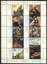 NVPH V1826-1835 Tien uit de Kunst 1999 postfris (MNH)