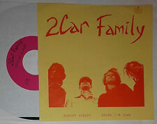 "2CAR FAMILY AUGUST SUNSET / ALONE I'M DOWN 7 "" SINGLE (2 CAR FAMILY)"