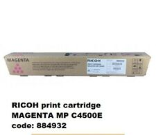 884932 RICOH MP C4500E PRINT CARTRIDGE MAGENTA