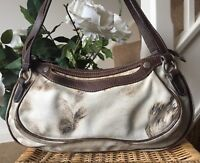 Lovely Designer 100% Genuine Roberto Cavalli Freedom leather Shoulder Bag