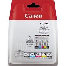 CANON ORIGINAL PGI-570/CLI-571 PGBK/C/M/Y/BK MULTI BL w/o SEC TINTENPATRONEN
