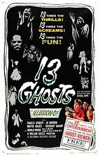 13 Ghosts Linen-backed Original Poster
