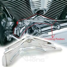 Chrome Cylinder Base Covers For 2006-2017 Dyna Model (FXDL Dyna Low Rider)