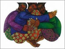 Sistahood Limited Edition 2000 Ethnic Expressive Art by Charles Bibbs