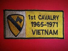 Vietnam War US Army 1st CAVALRY DIVISION 1965-1971 In VIETNAM Patch