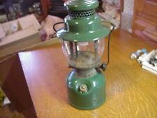 Vintage. COLEMAN 242C GREEN SINGLE MANTLE LANTERN 1947?