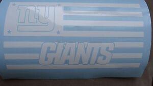 New York Giants Flag car decal
