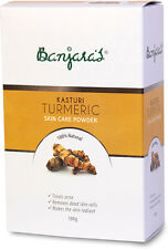 Banjara's Pure Herbs Kasturi Turmeric Skin Care Powder 100 gm 100% Natural