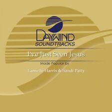 I've Just Seen Jesus - Larnelle Harris  Accompaniment/Performance Track - New
