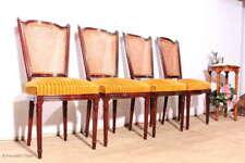 4 wunderschöne Polsterstühle Salonstühle Rückengeflecht Esstischstühle zum Herri