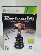 ROCKSMITH w/ Real Tone USB Cable (Microsoft Xbox 360; 2011) Factory Sealed - NEW