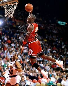 NBA Chicago Bulls Michael Jordan Air Jordan Game Action Color 8 X 10 Photo