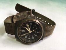 Stocker Yale Military Wristwatch Sandy 184 Radiation Dial Running MIL-W-48374C