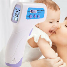 Termometro Dm300 Infrarossi Digitale Per Bambini Adulti Con Display Lcd  Linq