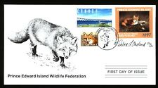 PRINCE EDWARD ISLAND PEW3e 1997 SIGNED FIRST DAY COVER RED FOX BY DEBRA IRELAND