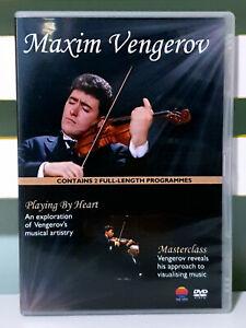 Maxim vengerov - playing by heart/masterclass dvd ntsc 2 3 4 5