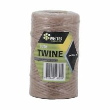 Whites Outdoor JUTE TWINE PLANT TIE 100m Easy To Use, Biodegradable Aust Brand