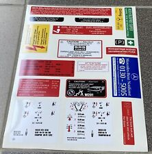 Mercedes-Benz W201 Decal Set Stickers Set For All Models All Engine Best Quality