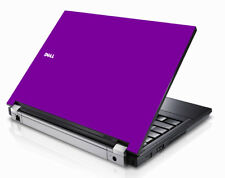 PURPLE Vinyl Lid Skin Cover Decal fits Dell Latitude E5400 Laptop