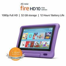 Amazon Fire HD 10 Niños Edición Tablet de 10.1 pulgadas 32GB-Púrpura (versión de Reino Unido-nuevo)